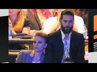 Entre Scarlett Johansson y Jared Leto hay mucho tonteo macareno