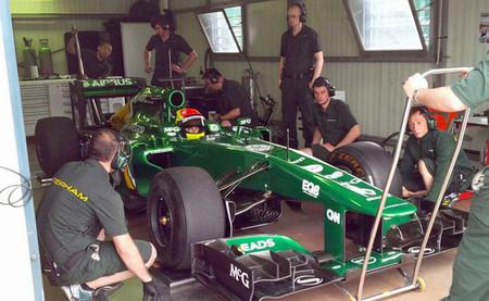 Sergio Canamasas se ha estrenado hoy al volante de un Fórmula 1