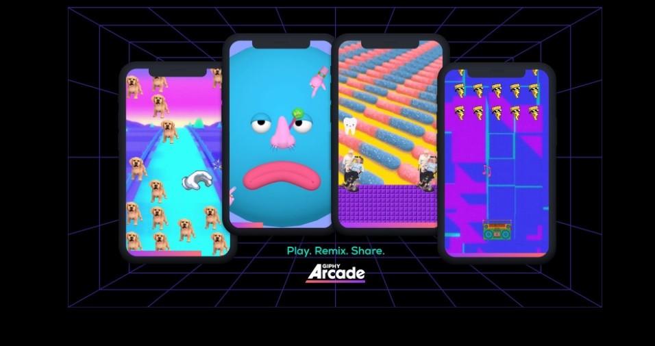 Giphy Arcade es una nueva plataforma gratuita de sencillos minijuegos web que puedes crear a tu gusto y compartir