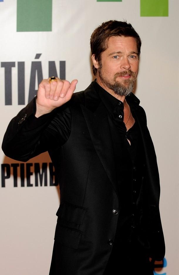 Foto de Brad Pitt en el Festival de Cine de San Sebastián (5/8)
