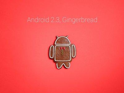Google deja de dar soporte a Android 2.3 Gingerbread, no será compatible con los servicios de Google Play