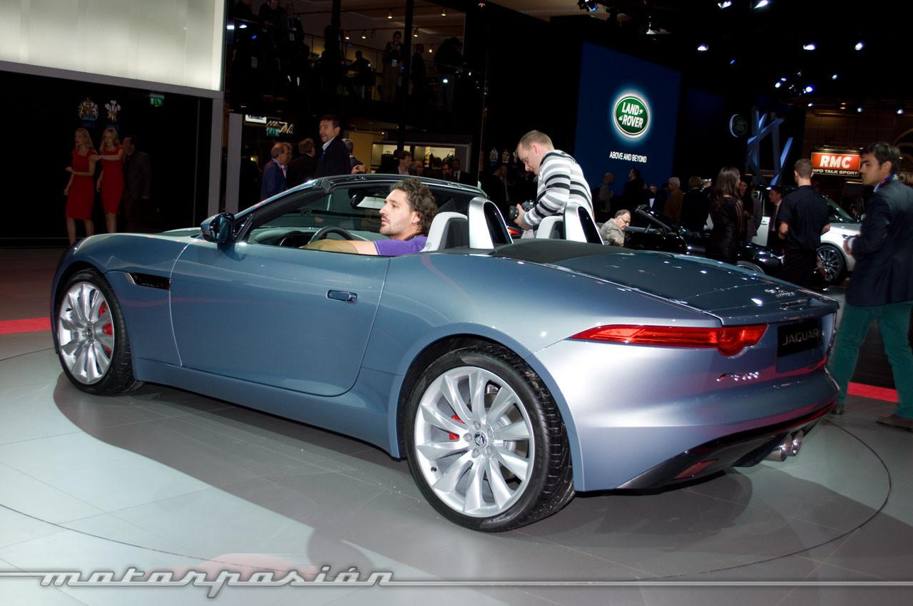 Foto de Jaguar F-Type en el Salón de París (6/10)