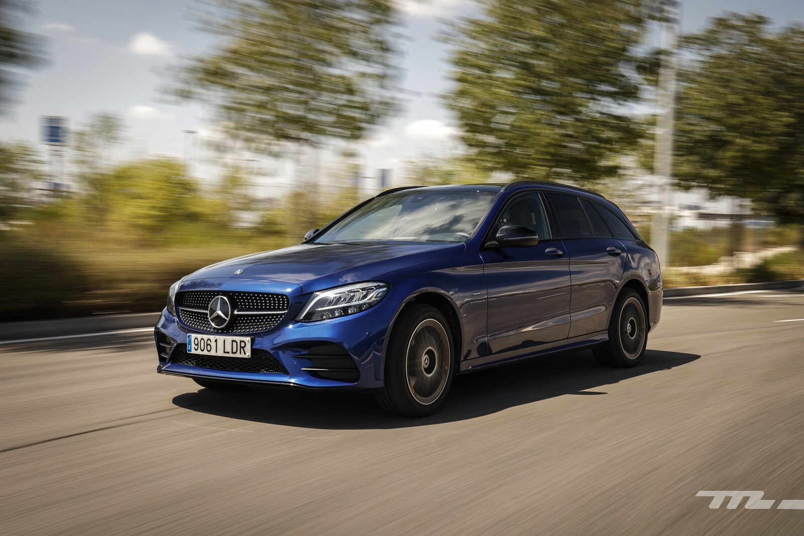 Foto de Mercedes-Benz C 300 de Estate 2020, prueba (28/46)