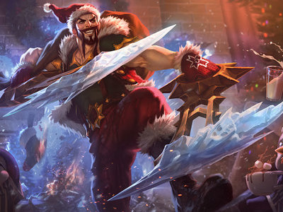 La versión navideña de ARURF ya está disponible en el League of Legends