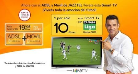 Llegan las televisiones con pago a plazos de la mano del ADSL de Jazztel