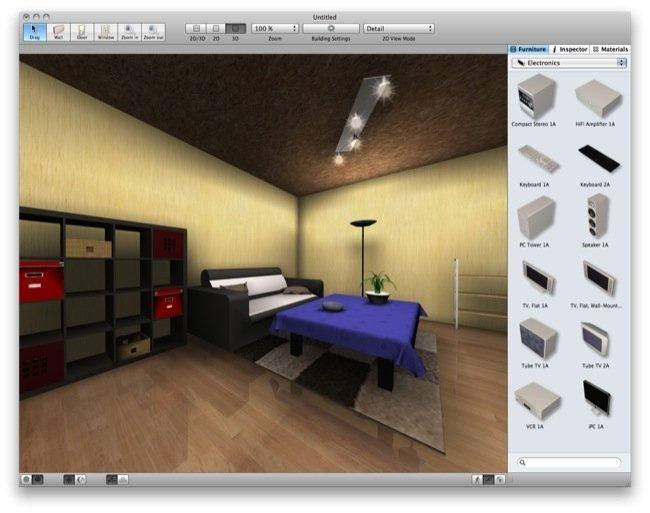 dise o de interiores para mac os x con myfourwalls ForPrograma De Diseno Interiores