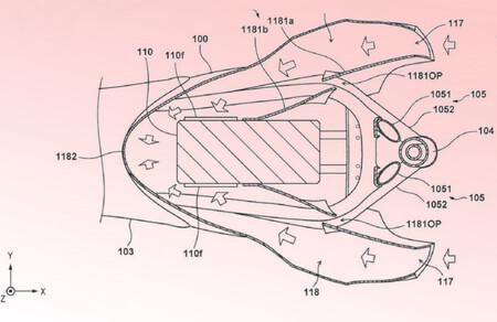 Honda Moto Electrica Patentes 2021