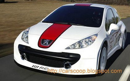 Peugeot 207 RCup Concept, 207 RC y 207 GTi