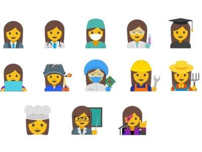 Google quiere crear emojis de mujeres trabajadoras para fomentar la igualdad