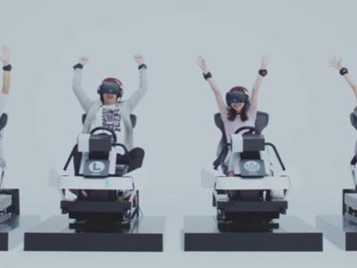 Así será Mario Kart Arcade GP VR, una máquina recreativa adaptada a la realidad virtual
