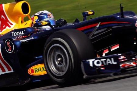 Sebastian Vettel y Red Bull dominan el viernes del Gran Premio de España