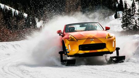 """Nissan 370Zki, o cómo convertir un deportivo en el """"Abominable Coche de las Nieves"""""""