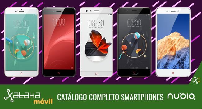 Nubia Z17, así encaja dentro del catálogo completo de smartphones Nubia en 2017