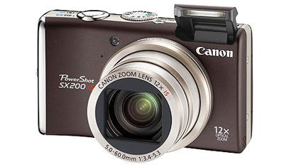 Nuevas Canon Powershot SX200 IS y D10