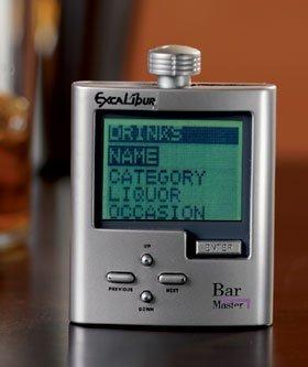 Electronic Bar Master, no te olvides nunca de como preparar un cocktail