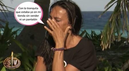 """Olga Moreno, hundida de nuevo en 'Supervivientes' por Antonio David Flores: """"Me hace falta un abrazo de él"""""""