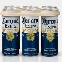 Cerveza Corona dejará de usar plástico en sus six-packs vendidos en México