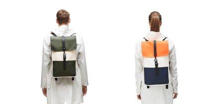 La elegante simplicidad de una mochila de Rains