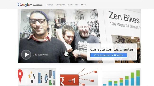 Google + mejora la interacción de sus páginas con los usuarios