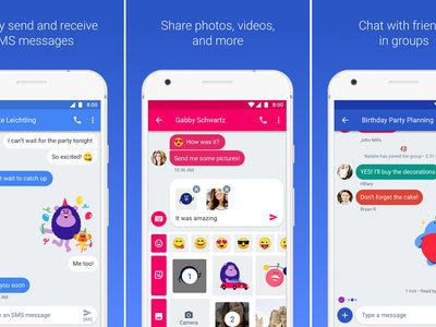 Mensajes Android 3.0 deja de dar soporte a Android 4.4 KitKat y se prepara para las funciones de chat de Google