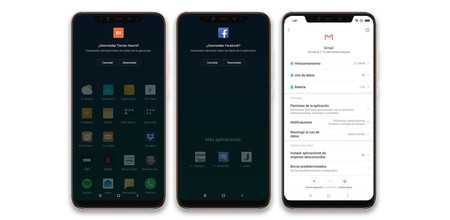 Xiaomi Mi 8 Pro Apps Desinstalar