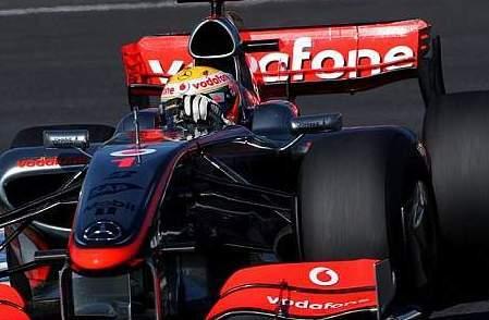 Los problemas con el alerón trasero de McLaren