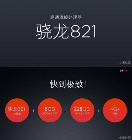 Xiaomi Min Note 2 Spces