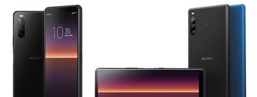 Estos son los precios europeos de los nuevos Sony Xperia 1 II, Xperia 10 II y Xperia L4