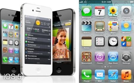 iPhone 4S con iOS 5
