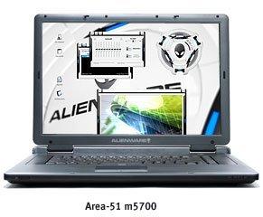 Alienware m5700 y m5500, portátiles para jugar duro