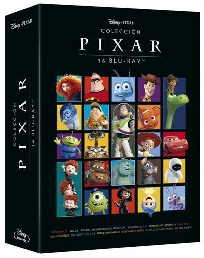 Colección Pixar (1995 - 2015), con 16 películas en Blu-ray, con un 30% de descuento y envío gratis