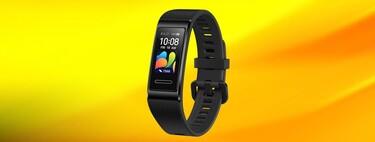 La Huawei Band 4 Pro es un chollo en Media Markt, una pulsera de actividad avanzada con GPS y medición de oxígeno por 28 euros