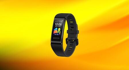 La Huawei Band 4 Pro a mitad de precio en Media Markt, una pulsera de actividad avanzada con GPS y medición de oxígeno por 28 euros