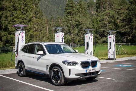 BMW iX3 cargador Ionity