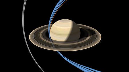 Saturno Espacio Anillos