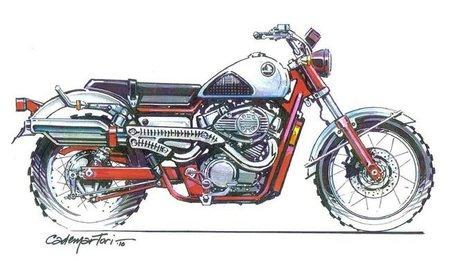 Honda Shadow by Cobra, Scrambler