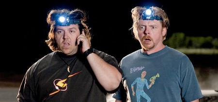 Simon Pegg y Nick Frost volverán a trabajar juntos en 'Truth Seekers', una serie cómica de terror para Amazon