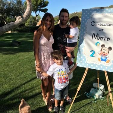 La tierna imagen con la que Antonella Roccuzzo y Messi nos confirman que esperan otro bebé