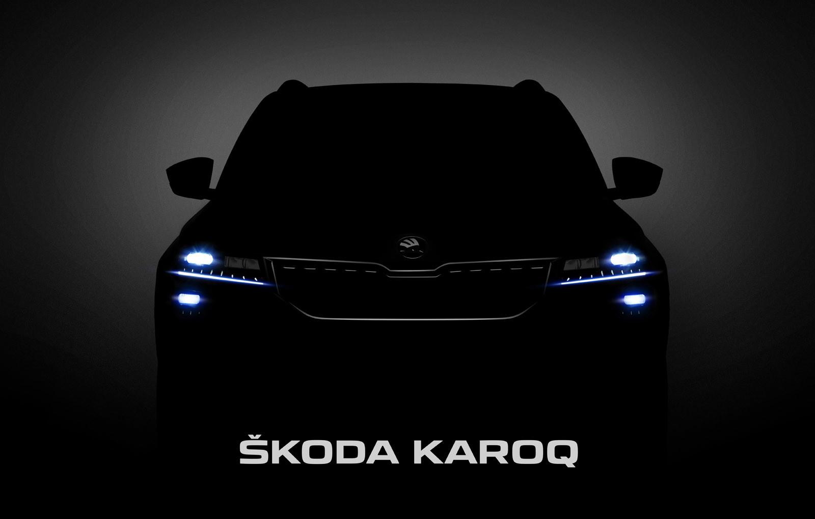 Škoda Karoq, teaser