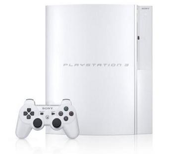 Playstation 3 blanca para Japón