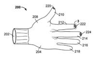 Una patente de Apple muestra unos guantes para usar el iPhone