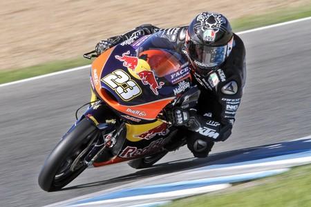 Niccolo Antonelli Test Moto3 Jerez