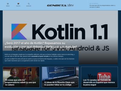 Las top stories llegan a Genbeta Dev: descubre nuestro nuevo diseño web