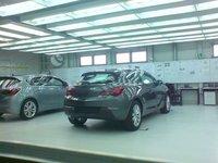 Opel Astra GTC, primera fotografía real