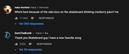 Comentarios Youtube