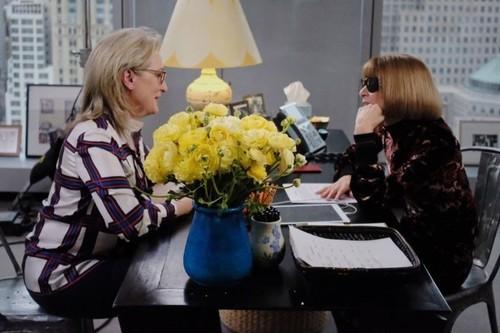 Anna Wintour cara a cara con Miranda Priestly: el encuentro con el que soñamos las fans de 'El diablo viste de Prada'