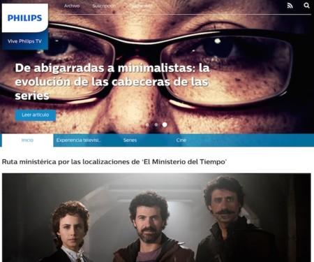 Si te gusta la tele, lanzamos un nuevo site para ti: Vive Philips TV