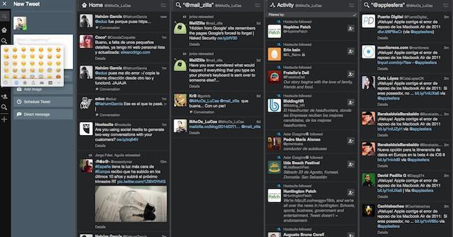 TweetDeck para Mac se renueva, los Emoji vuelven a estar disponibles para expresarte en Twitter