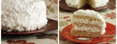 Receta de pastel de coco merengado, una deliciosa manera de dar salida a las claras de huevo