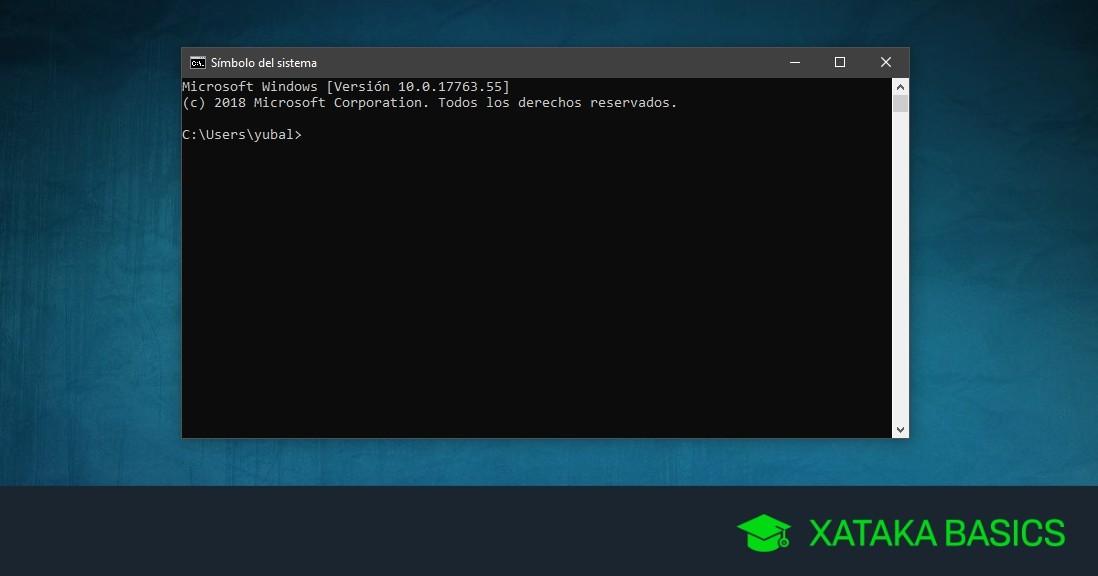 33 comandos básicos para dar tus primeros pasos en la consola de Windows (CMD)